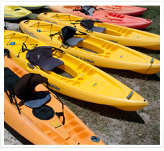Rent Watersports Equipment