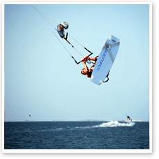 Advanced Kiteboarding Lessons in the Laguna Madre Bay