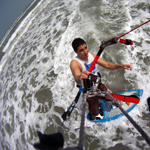 Paul Sheetz - GoPro with the KiteHero Line Mount