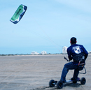 Monte Cantu Kite Landboarding on the South Flats of Padre Island