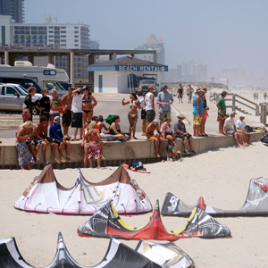 Kiteboarding Community on South Padre Island, Texas Beaches