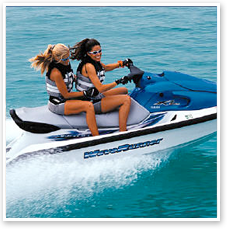 Jet Ski and Wave Runner Rentals on South Padre Island