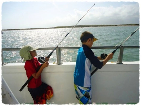 Deep Sea Fishing on South Padre Island