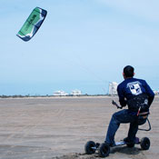 Kite Landboarding Lessons South Padre