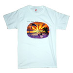 Sunset Kiteboarding T-Shirt