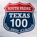 Air Padre Kiteboarding Texas 100 T-Shirt