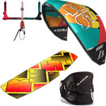 Complete Beginner Kiteboarding Equipment Package