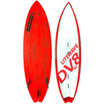 2017 Litewave DV8 kite Surfboard