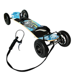 MBS Atom 95X Mountain Board Off Road Skateboard