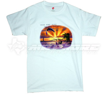Christian Kiteboarding Sunset T-Shirt