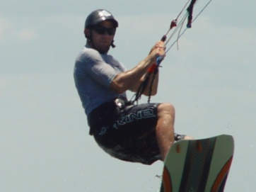 Bryan Cannon Kiteboard instructor and APK Team